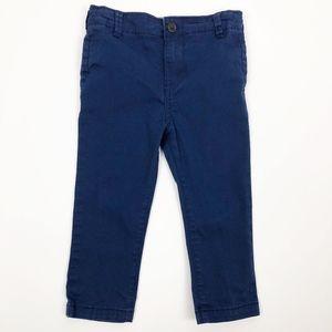 Oshkosh Boys Skinny Stretch Navy Blue Pants 24 M